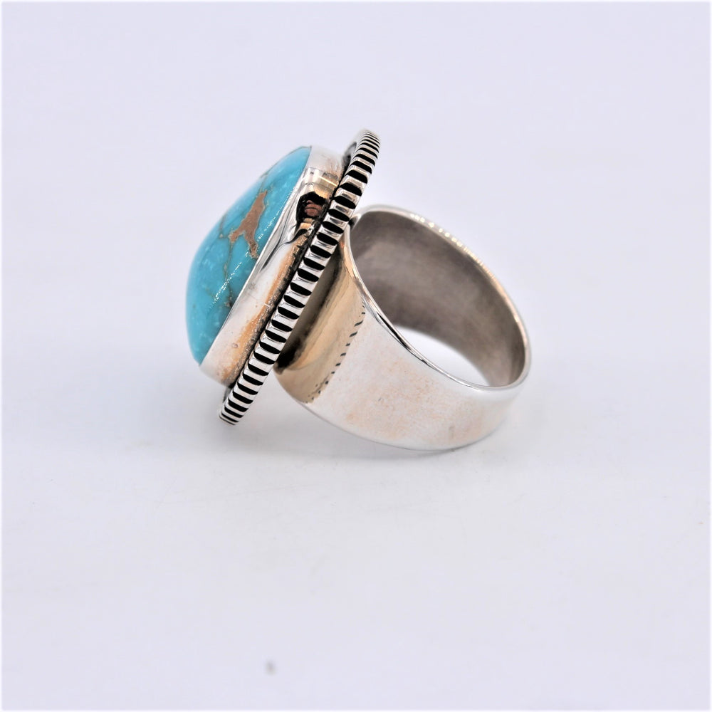 9 Fox Turquoise Ring