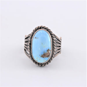 Golden Hill  Turquoise Ring