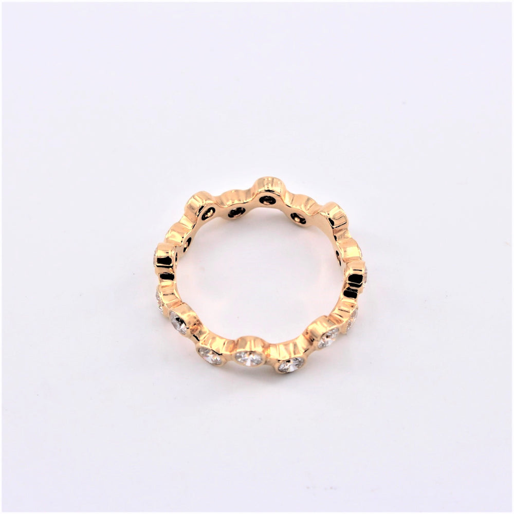 Diamond Bubble Ring