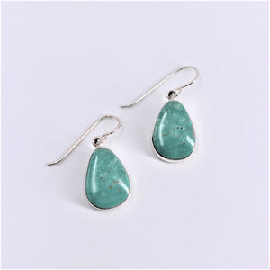 Teardrop Turquoise Earrings