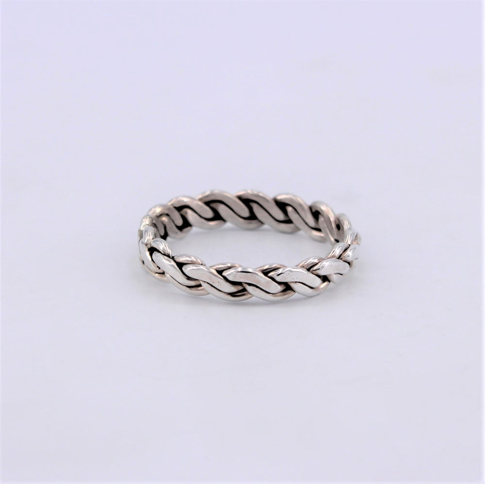 Mens Braided Ring