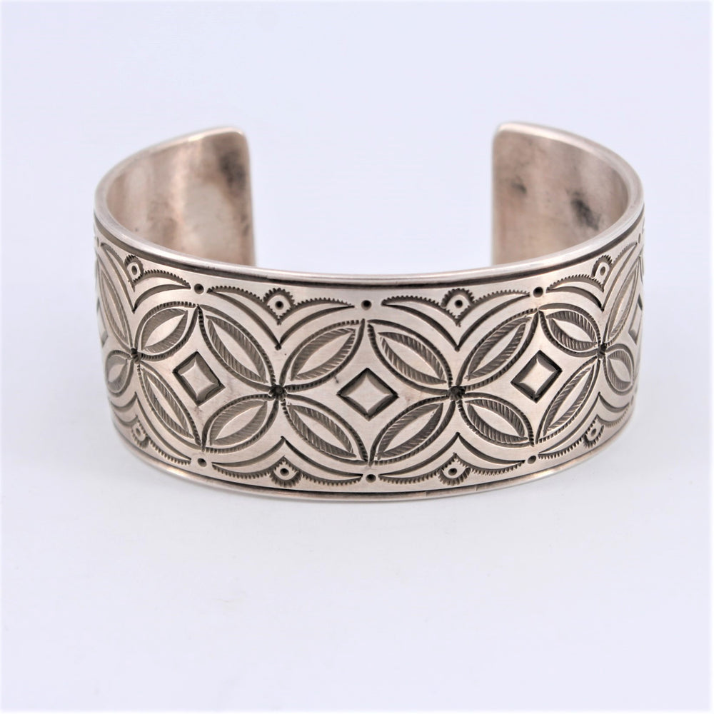 Navajo Tooled Bracelet