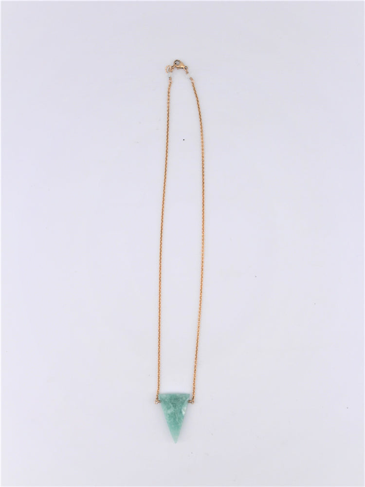 Amazonite Arrow Necklace