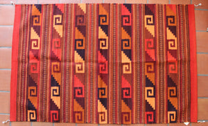 Large Handwoven Zapotec Rug