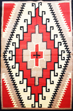 Zapotec Large Handwoven Wool Rug