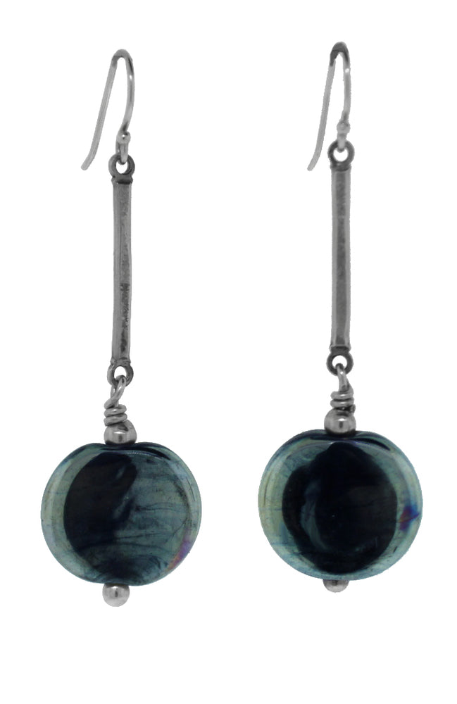 Triton Oval Earrings