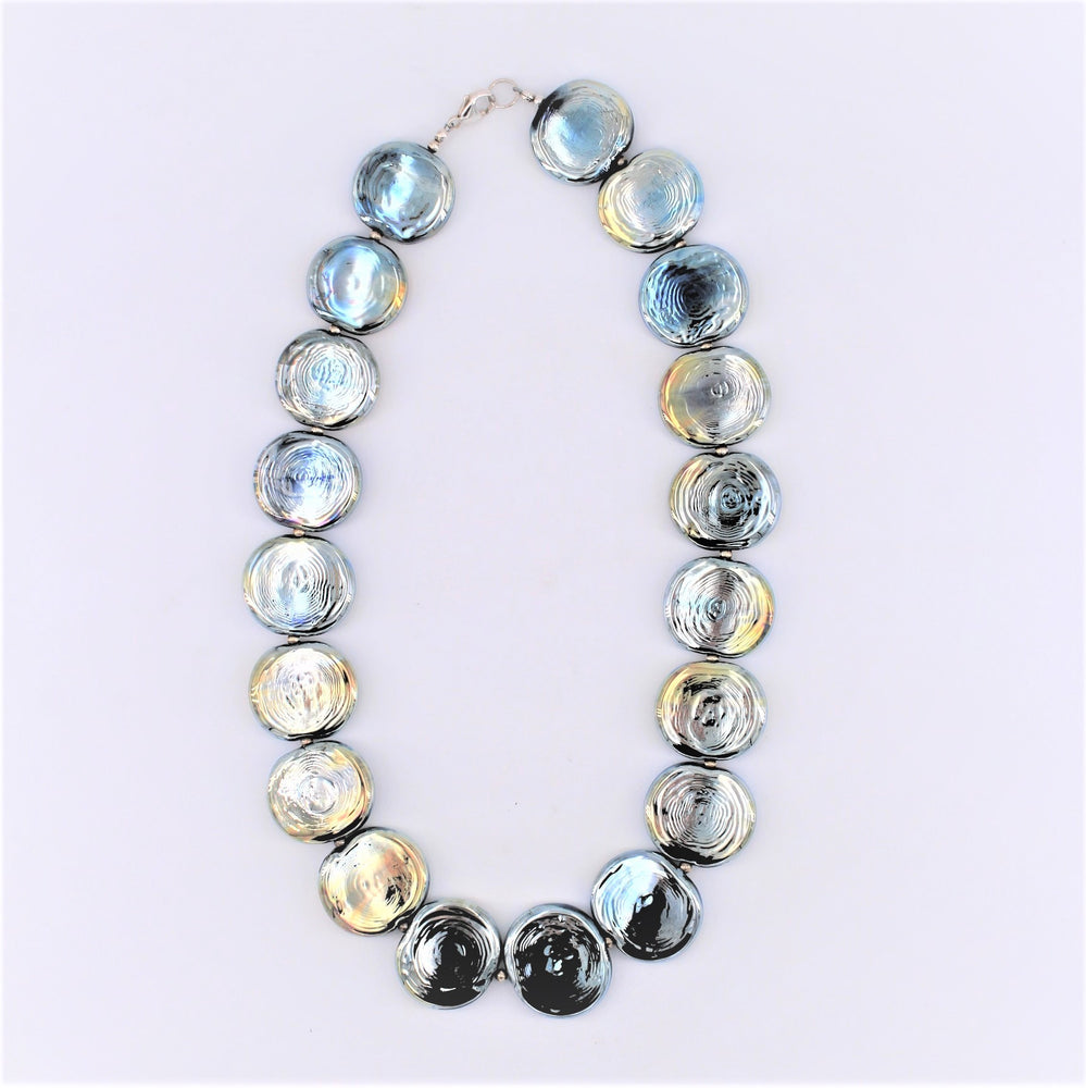 Flat Beaded Necklace