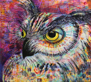 Art March Owl