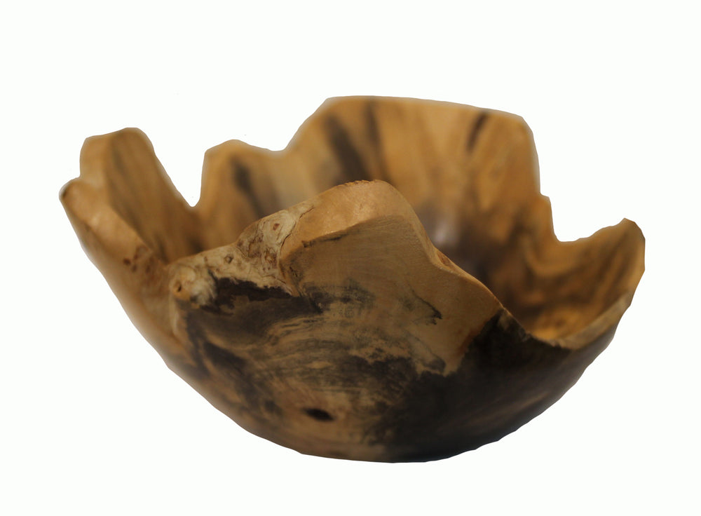Beetle Kill Pine Wooden Bowl