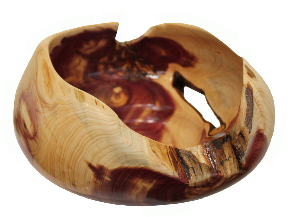 Eastern Red Cedar Wooden Vessel