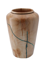Aspen Vase with Turquoise Inlay
