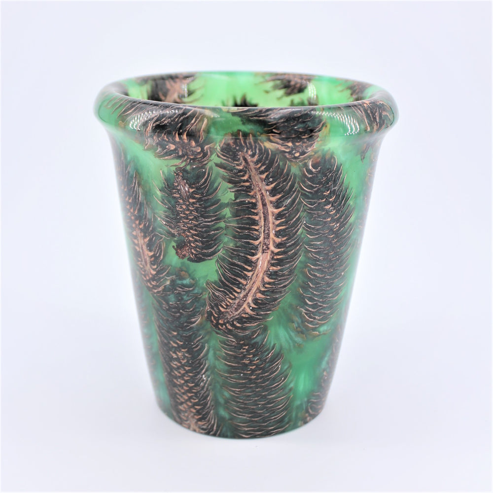 Spruce Pine cone Green Resin