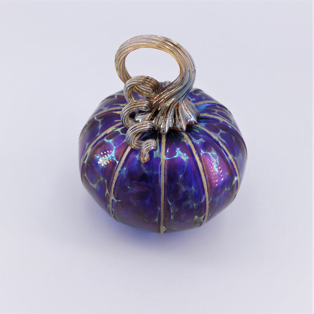 Medium Cobalt Pumpkin