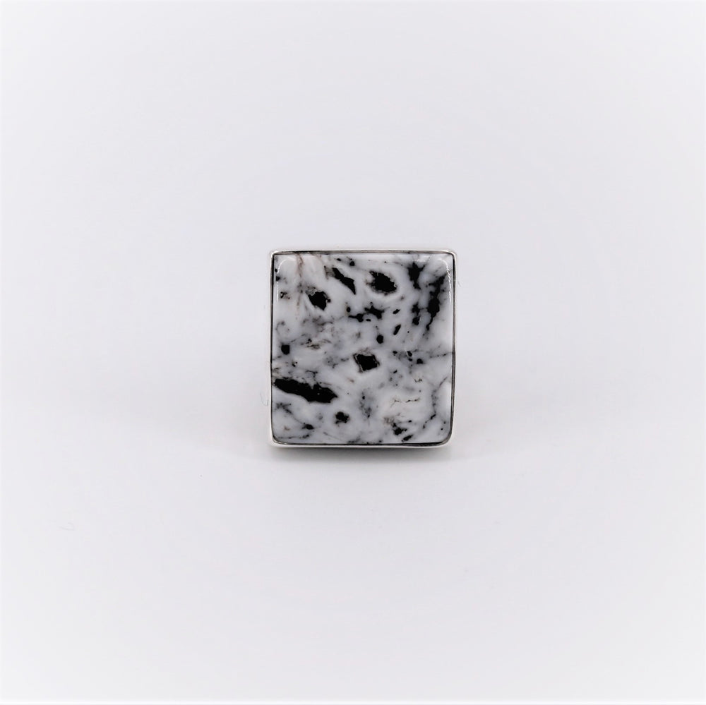 White Buffalo Square Ring