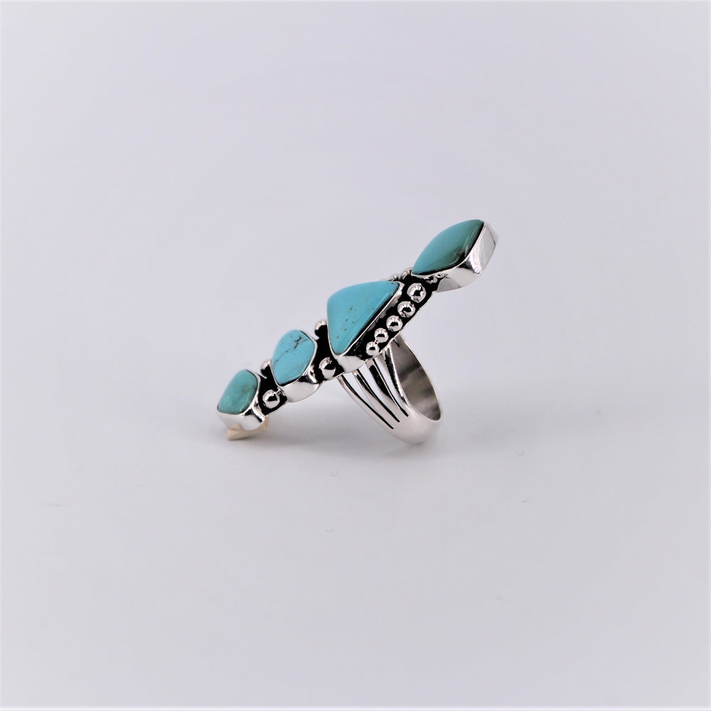 Four Stone Turquoise Ring