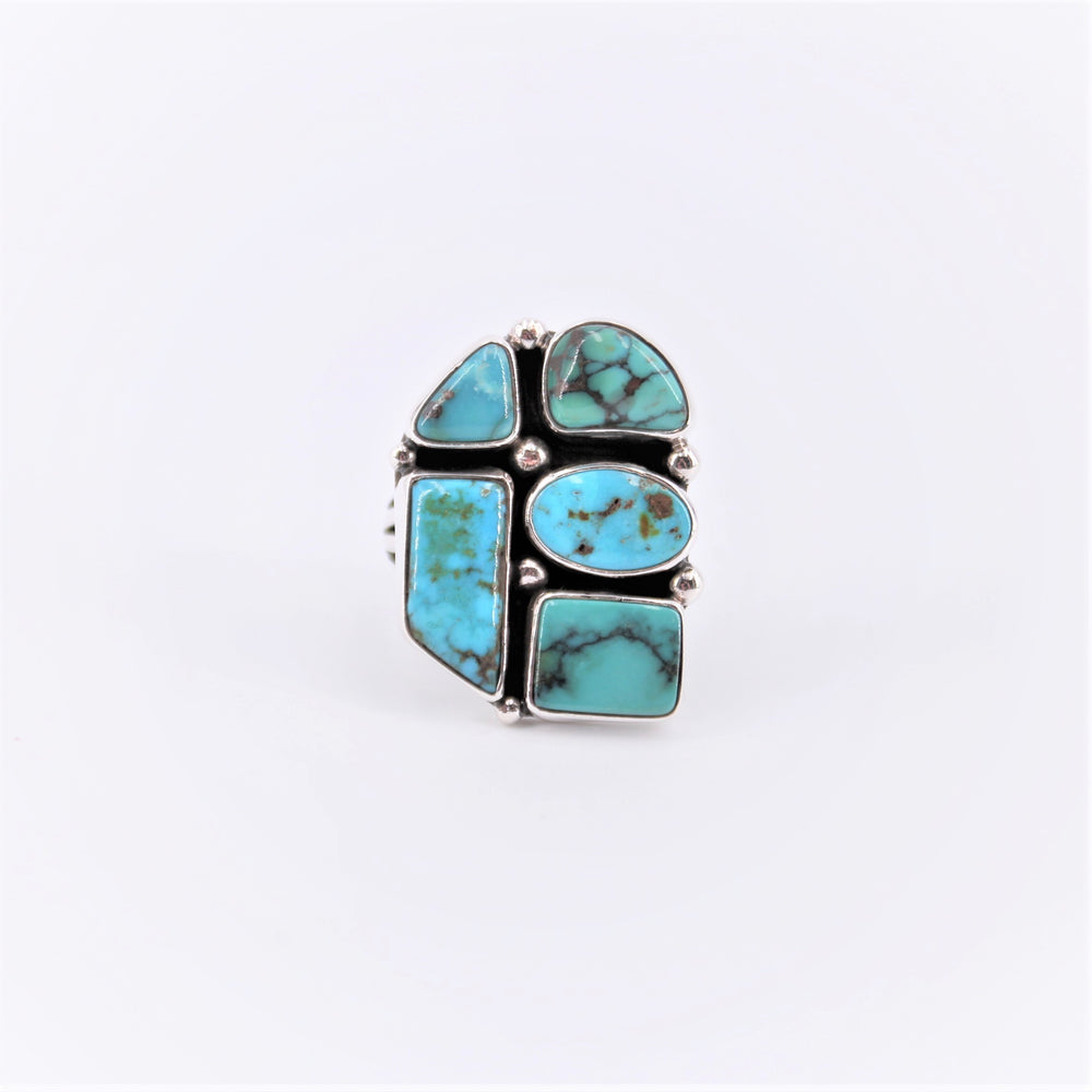 Assorted Five Stone Turquoise Ring