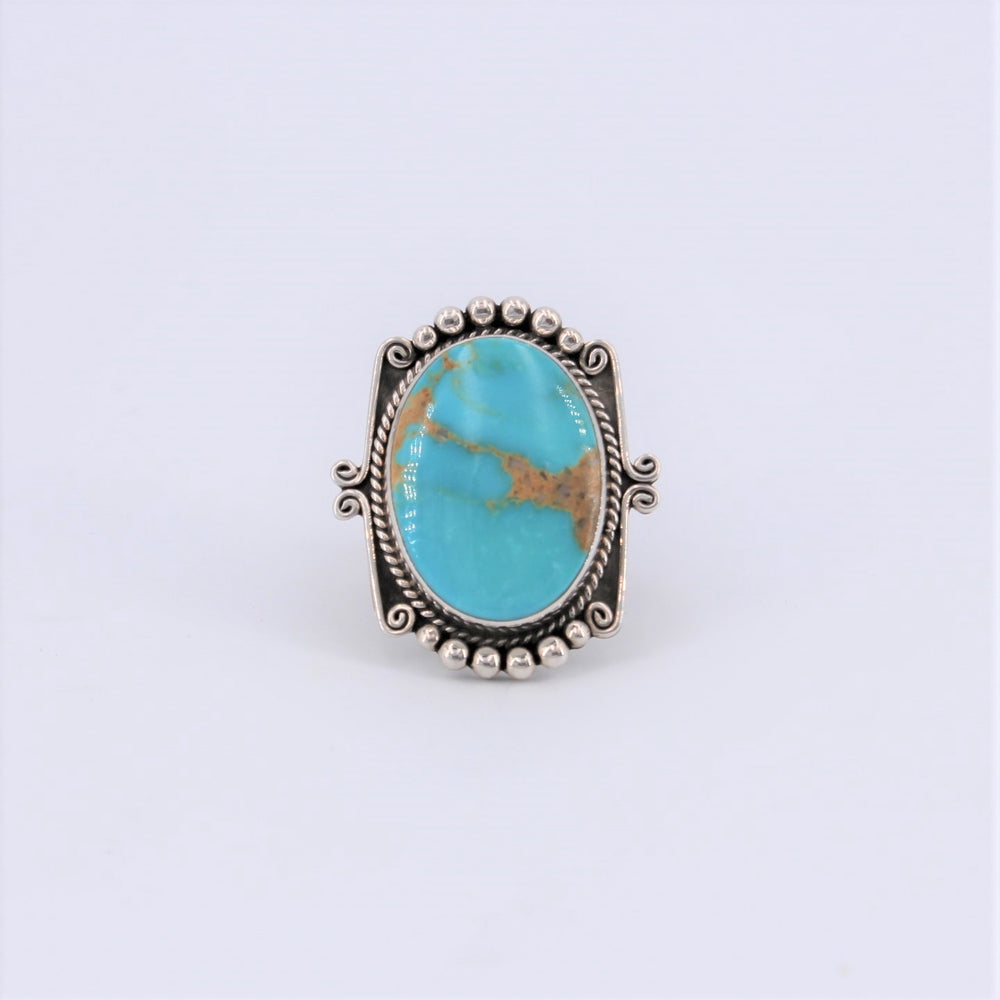 Turquoise 'Picture Frame' Ring