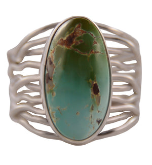 Sterling Silver Royston Turquoise Twine Ring