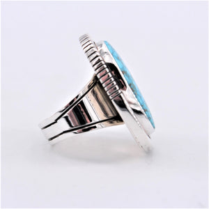 Birdseye Kingman Ring