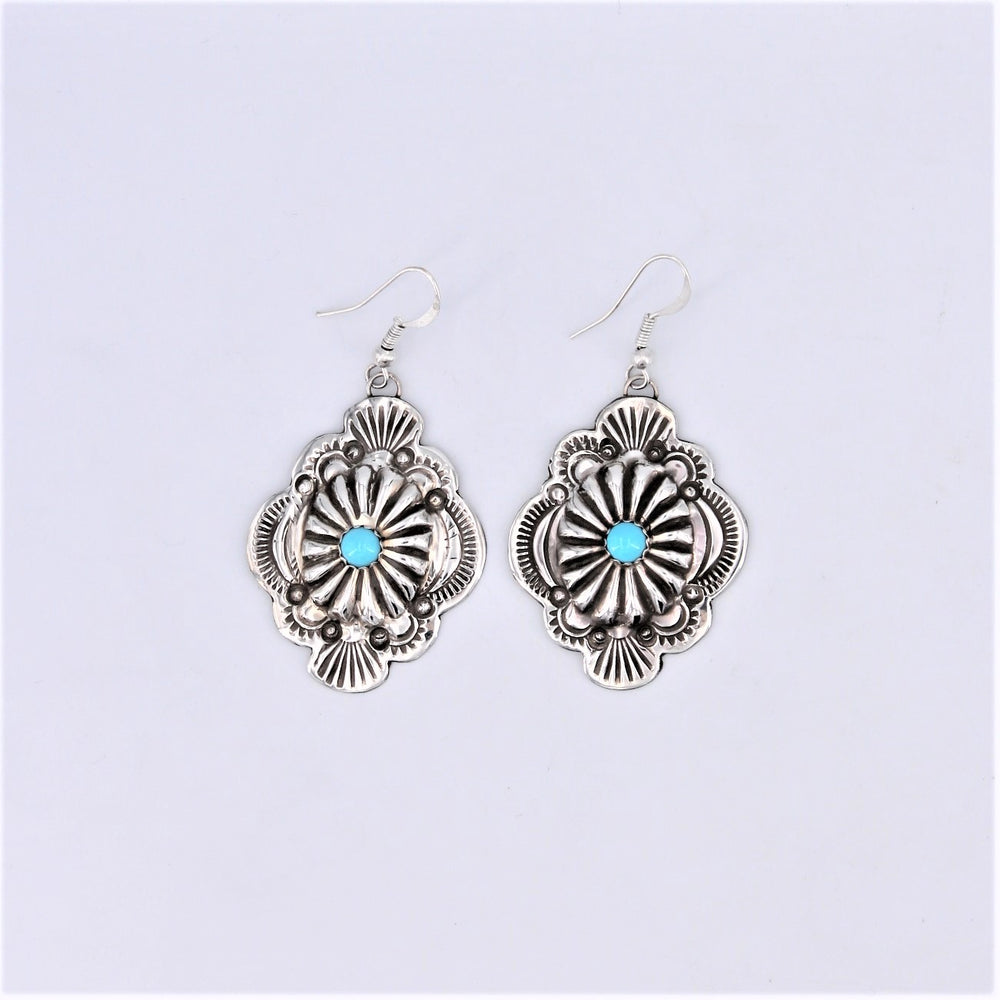 Concho Dangle Earrings