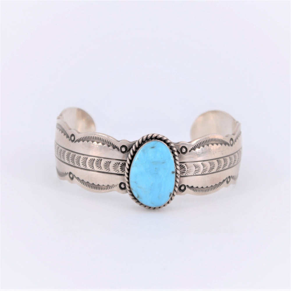 Medium Cuff With Turquoise
