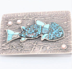 Fish Belt Buckle