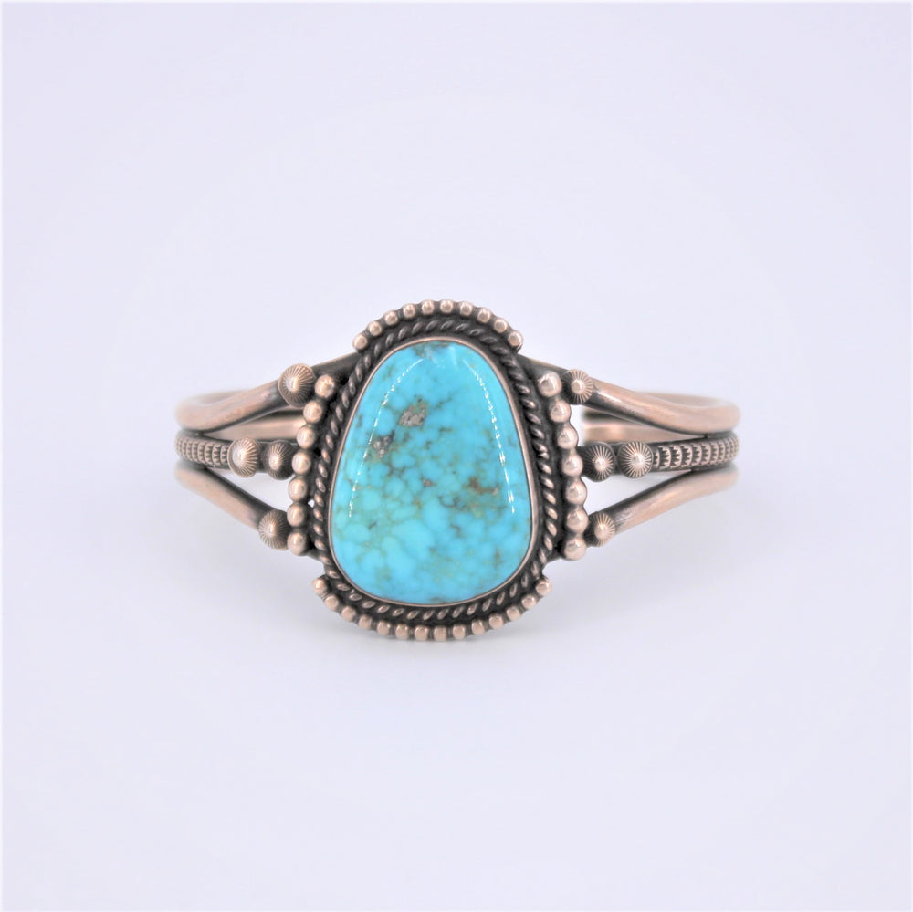 Three Band Split Turquoise Cuff