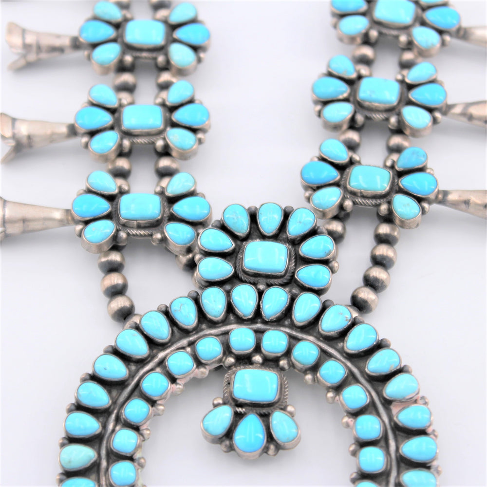 Zuni Squash Blossom Necklace