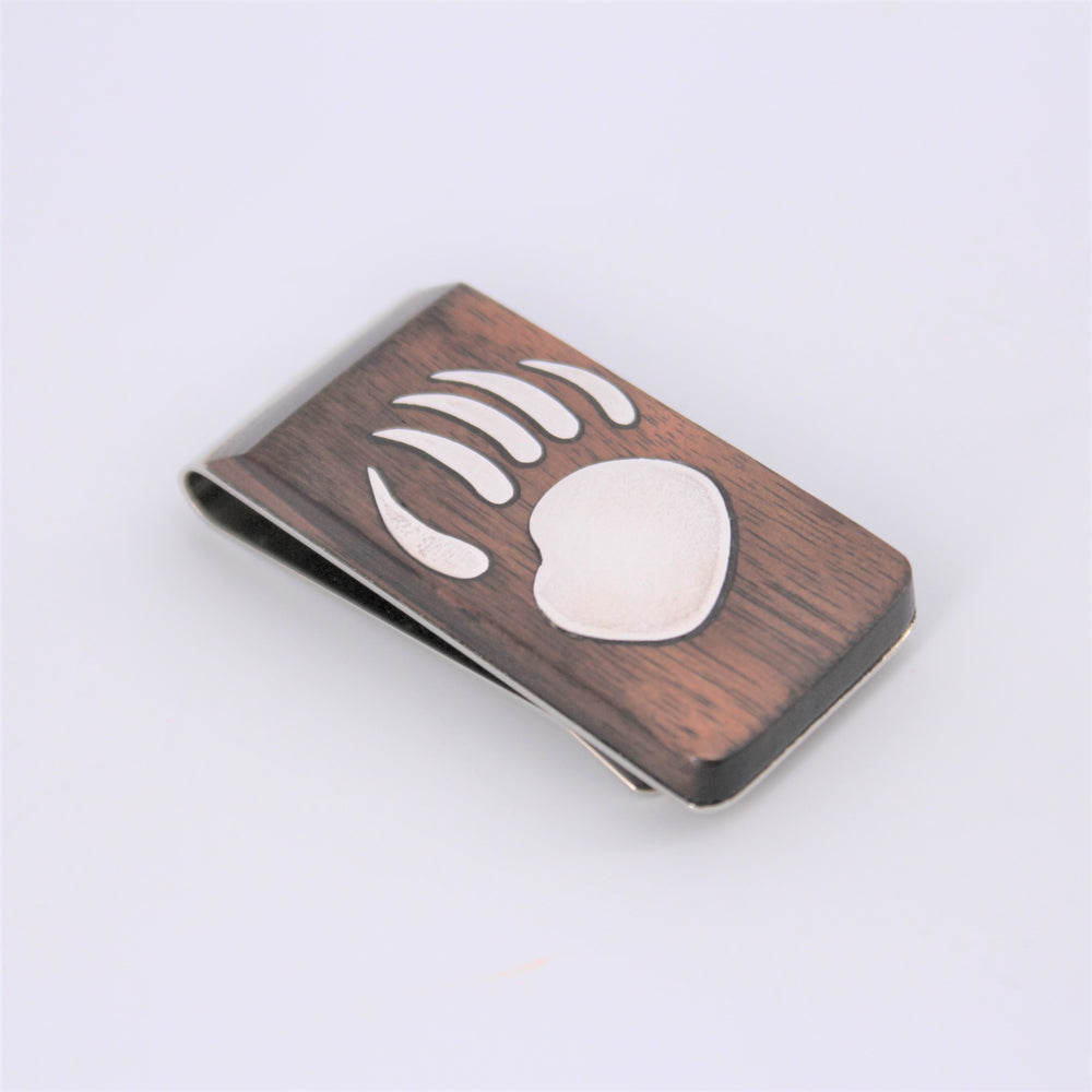 Bear Paw Money Clip