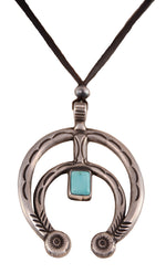 Buffalo Turquoise Naja Adjustable Necklace