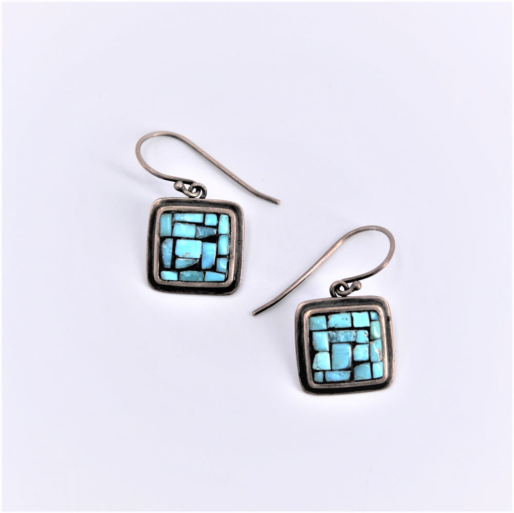 Square Mosaic Earrings