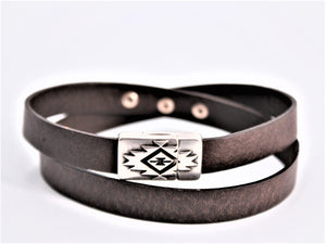Stainless Steel Magnetic Wrap Bracelet