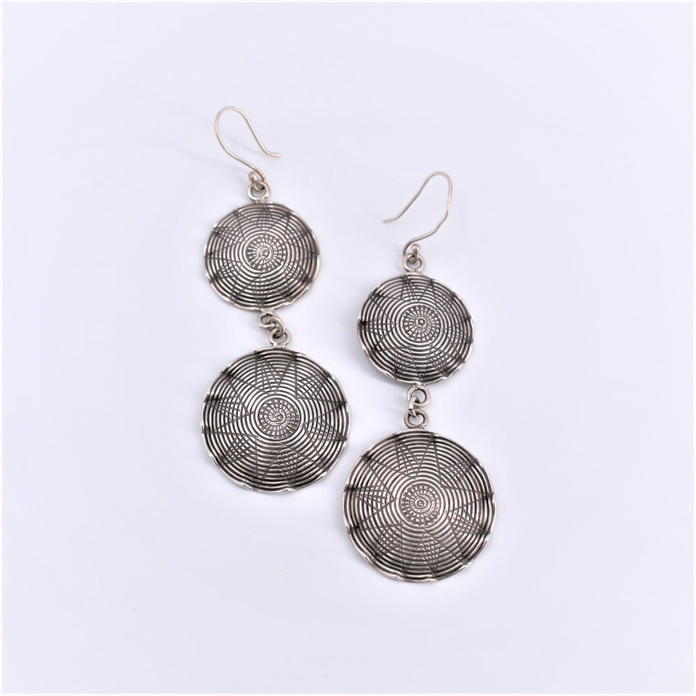 Double Basket Earrings