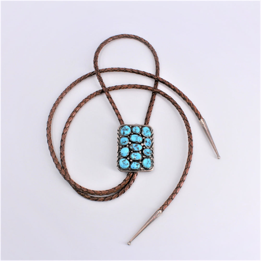 Nugget Turquoise Bolo