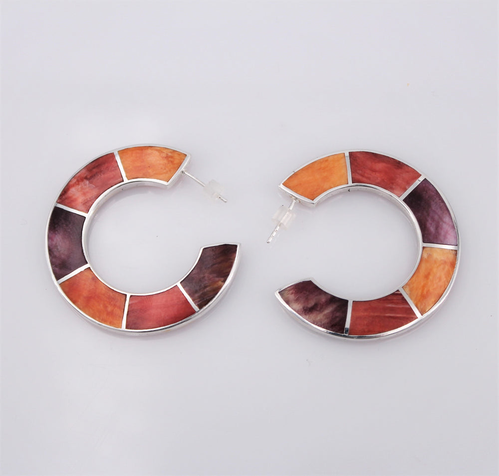 Disco Hoop Earrings