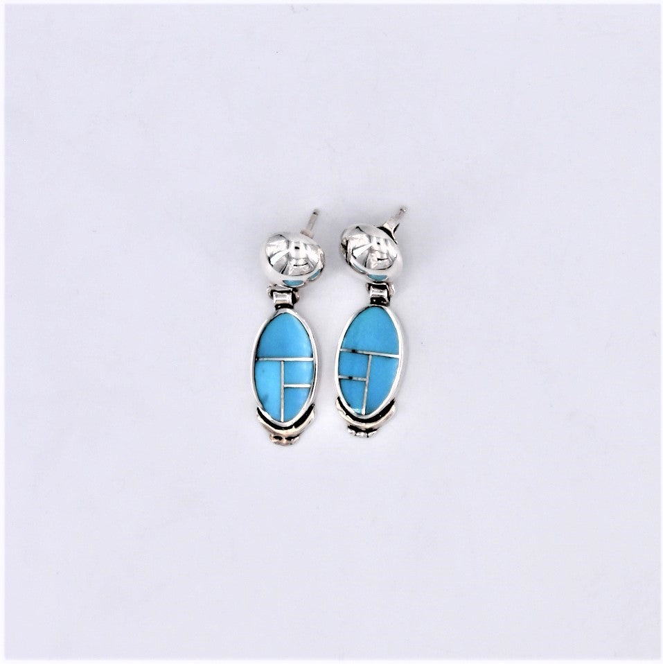 Azure Blue Earrings
