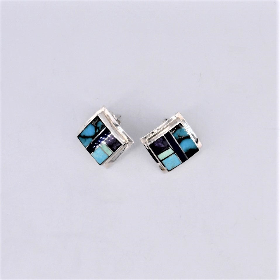 Spirit Square Inlay Studs