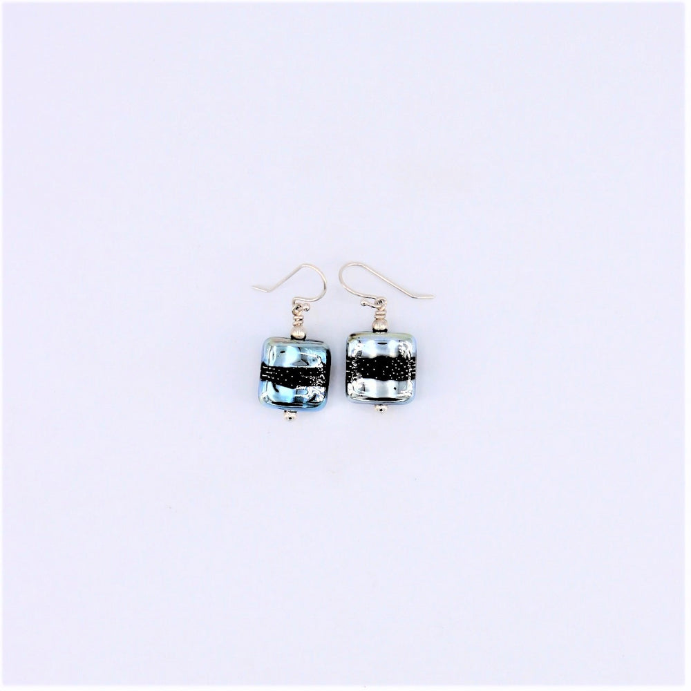 Square Metallic Earrings