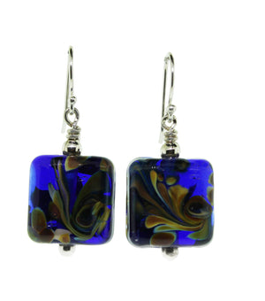Short Peacock Earrings