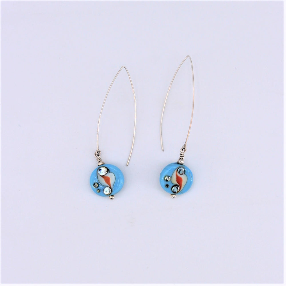 Blue Patagonia Earrings