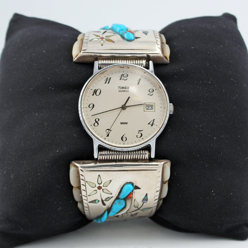 Blue Jay Inlay Watch