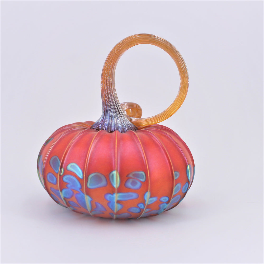 Medium Glass Pumpkin