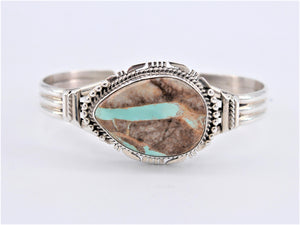 Large Boulder Turquoise Cuff