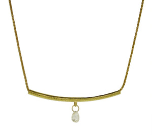 18 Karat Gold Diamond Necklace