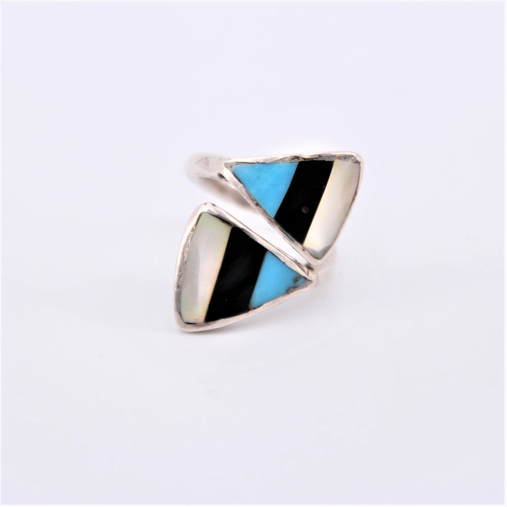 Twist Inlay Ring