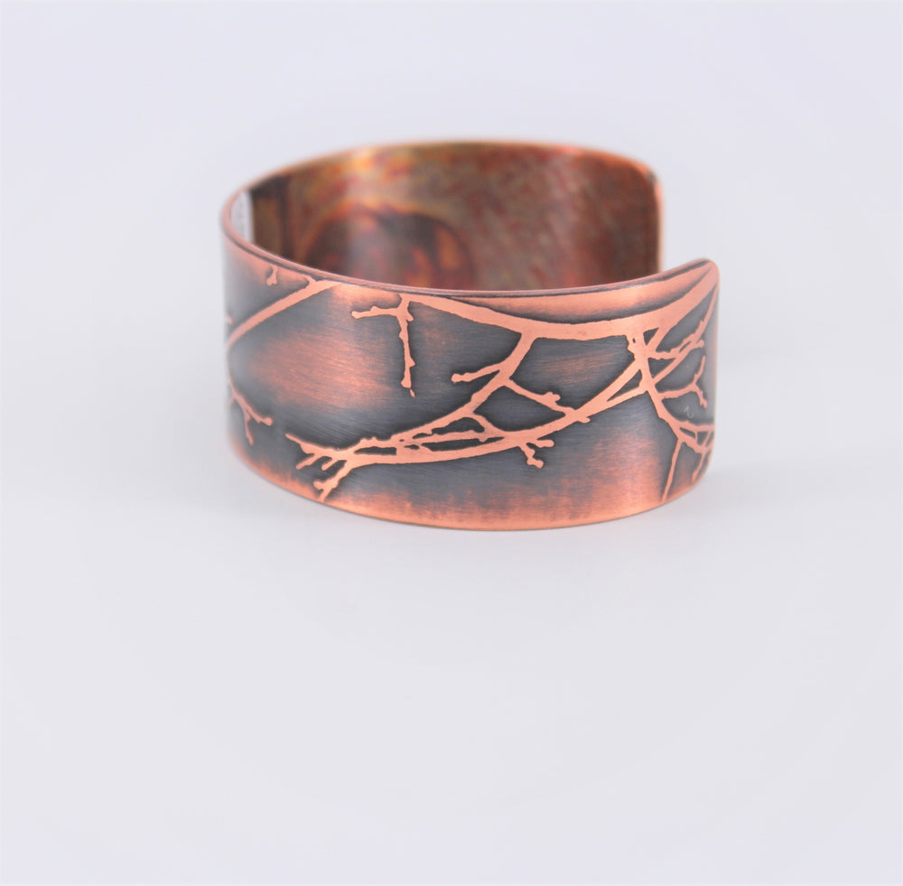 Raven Tree Copper Cuff
