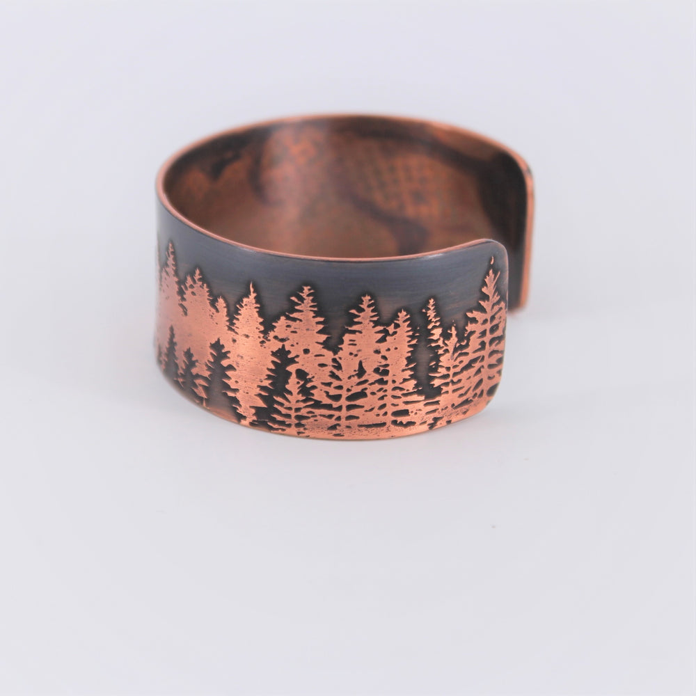 Forest for the Trees Copper Cuff