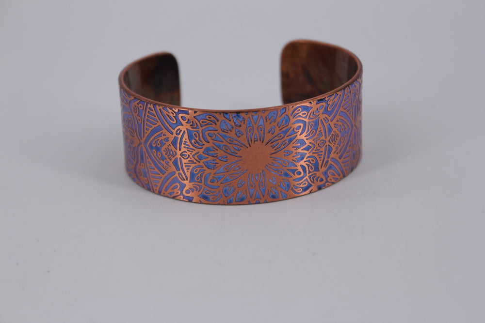 Kaleidoscope Copper Cuff