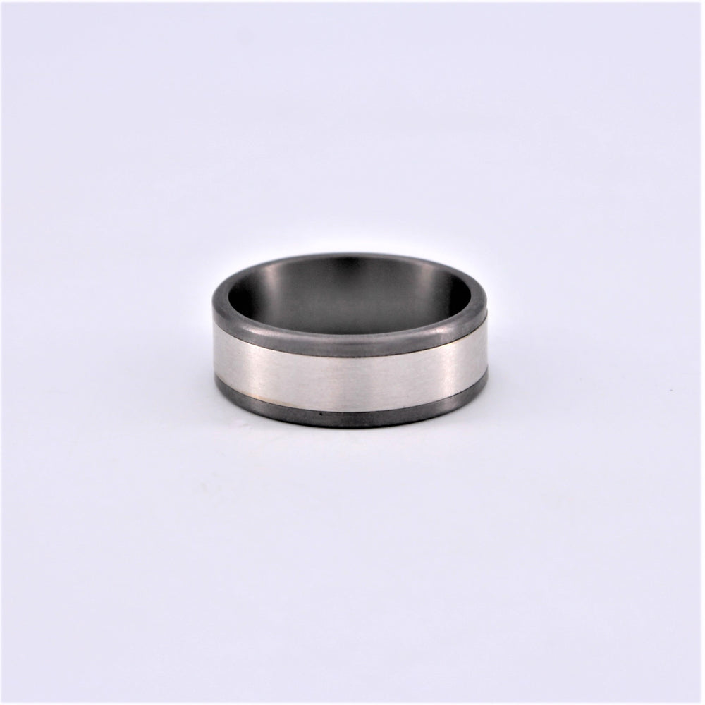 Tantalum White Gold Ring
