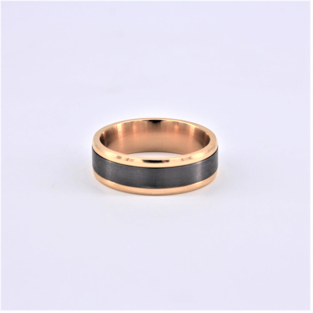 Gold and Tantalum Ring